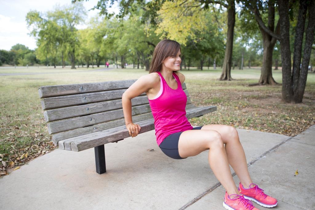 bench dip pink